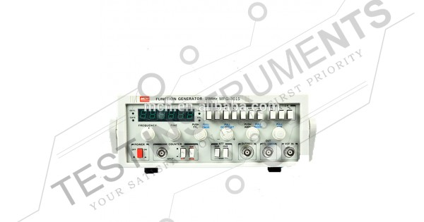 function generators   mfg3015 mch